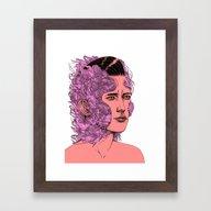 Transformation Portrait … Framed Art Print