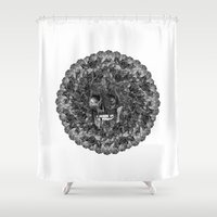 Perfume Shower Curtain