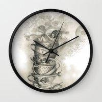Tea bath Wall Clock