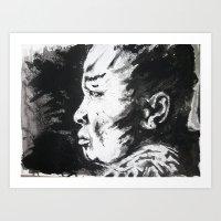 Monje/Monk Art Print