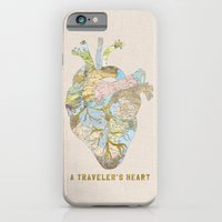 A Traveler's Heart iPhone 6 Slim Case