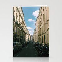 Spring In Paris - Le Mar… Stationery Cards