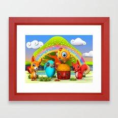 The Giant Acorn Framed Art Print