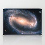 Barred Spiral Galaxy iPad Case