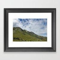 African Mountains Framed Art Print