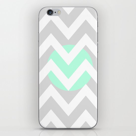 CIRCLE CHEVRON iPhone & iPod Skin