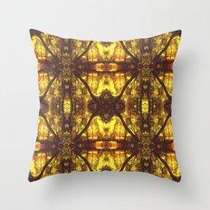 Kaleidoscope Woods Throw Pillow