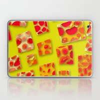red spotted rectangles Laptop & iPad Skin