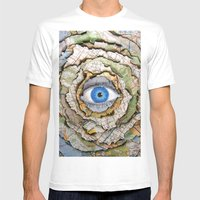 Seeing Through Illusions  Mens Fitted Tee White SMALL