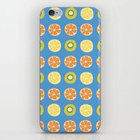 Fruit Shower iPhone & iPod Skin