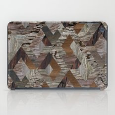 Wood Quilt iPad Case