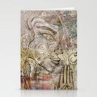 Reflection on  'Second Hand Flood Newz' Stationery Cards
