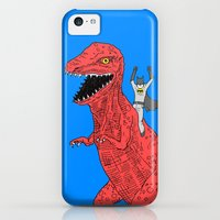 iPhone 5c Cases featuring Dinosaur B Forever by Isaboa