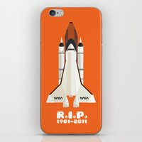RIP, space shuttle iPhone & iPod Skin
