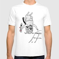 ANTI-Christ Air Mens Fitted Tee White SMALL