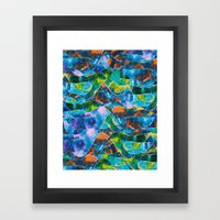 CRAYON LOVE : Freebird Framed Art Print