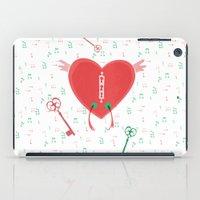 Keys Of Heart iPad Case
