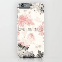 iPhone & iPod Case featuring Love Me More by .eg.