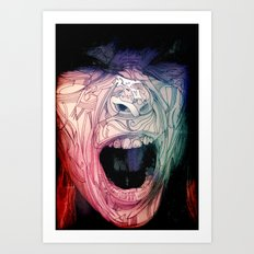 The Scream. Art Print