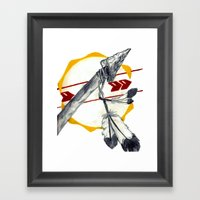 Spear 1 Framed Art Print