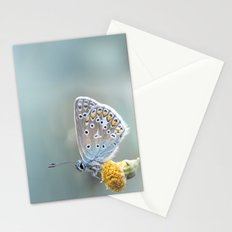 Composition in Yellow and Blue....  Stationery Cards