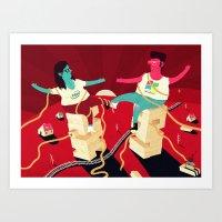 Wintel Art Print