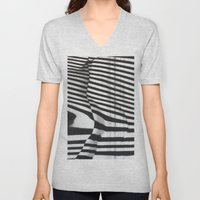 Stripes Unisex V-Neck