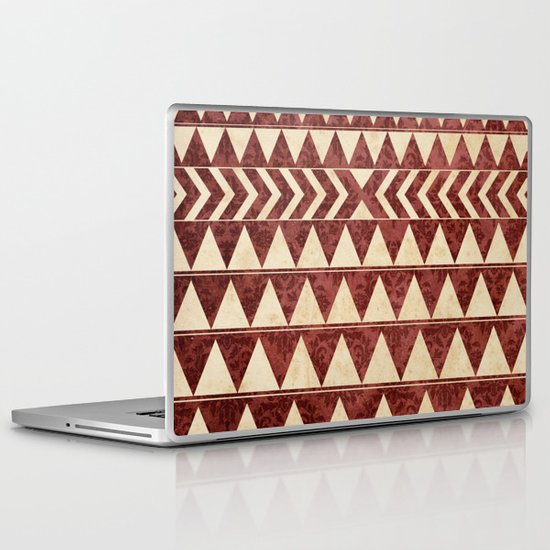 Vintage Material Triangles Laptop & iPad Skin