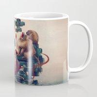 monkey temple Mug