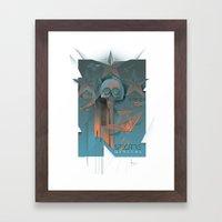 INSPECTRE GENERAL 2013 Framed Art Print