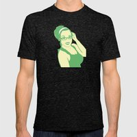 self portrait 2 Mens Fitted Tee Tri-Black SMALL