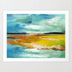 Behind The Horizon Is No… Art Print