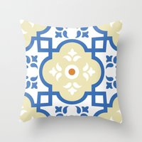 Floor Tile 1 Throw Pillow