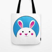 Chubby Bunny Tote Bag