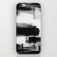 No. 85 Modern Abstract B… iPhone & iPod Skin