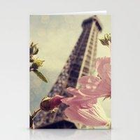 Springtime In Paris Stationery Cards