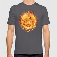 The Sun (Young Star) Mens Fitted Tee Asphalt SMALL