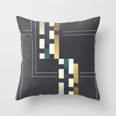 Abstract #191 Throw Pillow