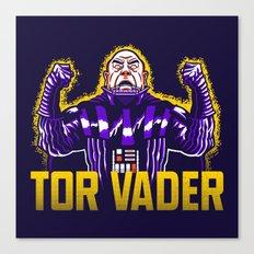 Tor Vader Canvas Print