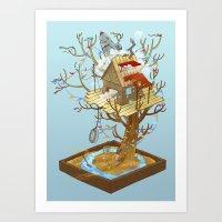 Dream Playground Art Print