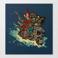 Sea Traveler Canvas Print