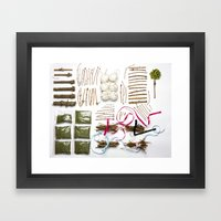 Packed Christmas Framed Art Print