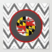 MD LAW Canvas Print