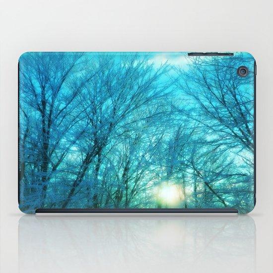 Landscape ~ Winter sunset iPad Case