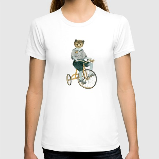 Bear on a Tricycle T-shirt