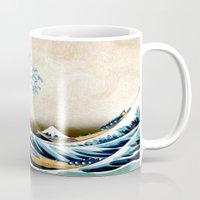 Kanagawa Oiled Mug