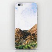 Malibu Mountains iPhone & iPod Skin