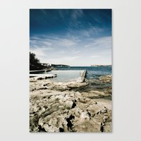 Fairlight Baths, Sydney, Australia Canvas Print