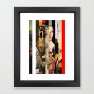 Framed Art Print featuring Stars In Stripes 4 by Marko Köppe