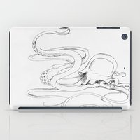 Jellyfish-man iPad Case